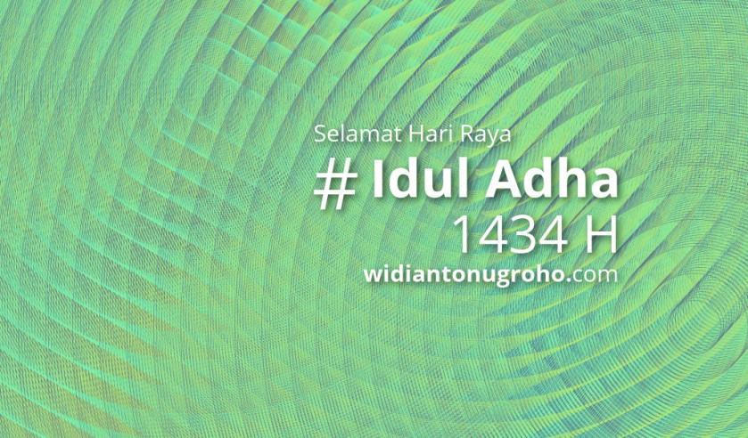 Selamat Idul Adha 1434 H