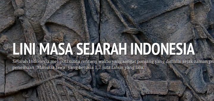 Lini Masa Sejarah Indonesia
